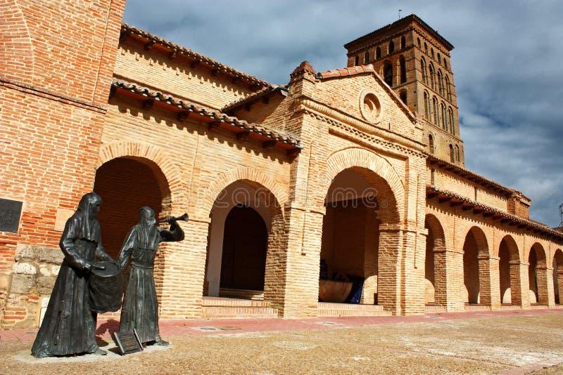 San Lorenzo de Sahagun church. In Leon, Spain royalty free stock photo