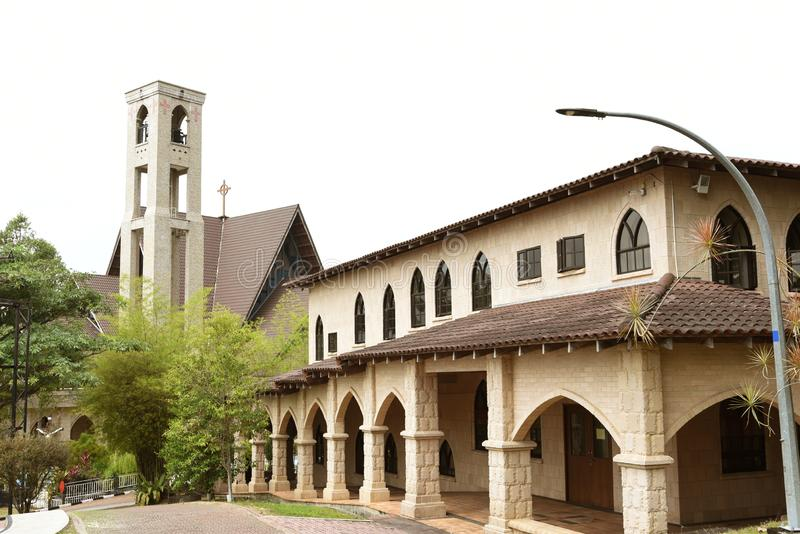 San Lorenzo de Sahagun kyrka royaltyfria bilder