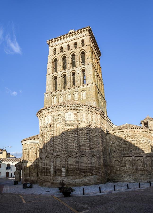 San Lorenzo de Sahagun kyrka i Leon fotografering för bildbyråer