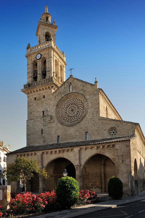 San Lorenzo kyrka, Cordoba, Spanien fotografering för bildbyråer