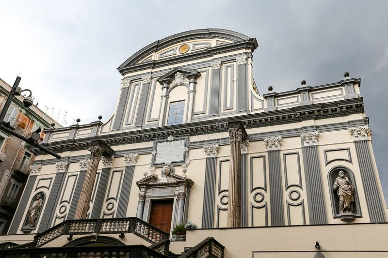 San Lorenzo Maggiore is a Church in Naples, Italy. San Lorenzo Maggiore is a Church in Naples City, Italy royalty free stock photography