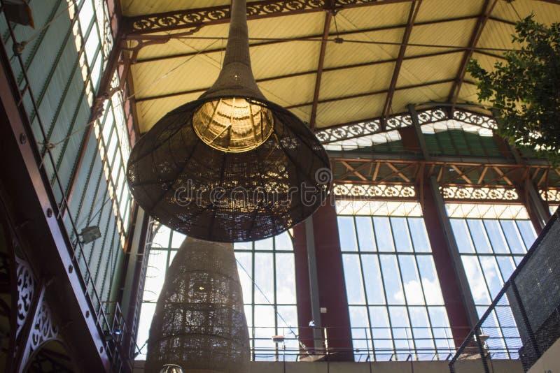 San Lorenzo Market in Florence stock afbeelding