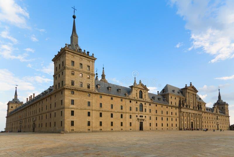 San Lorenzo Monastery in Gr Escorial, Madrid royalty-vrije stock afbeelding
