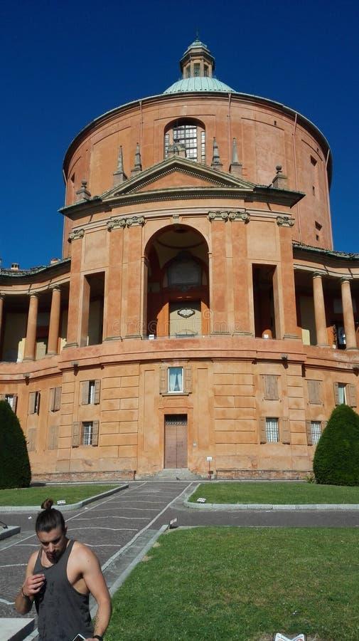 San Luca Bologna stock fotografie