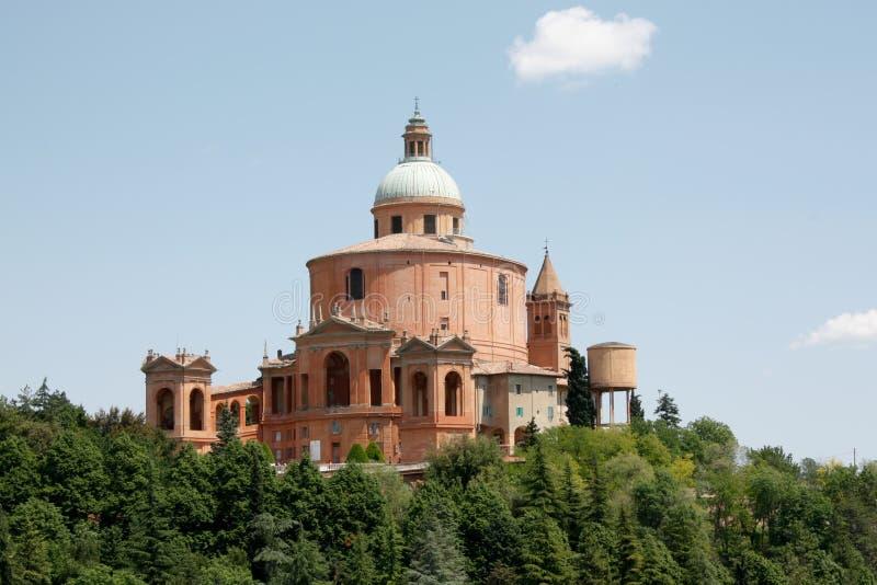 San Luca's church - Bologna stock images