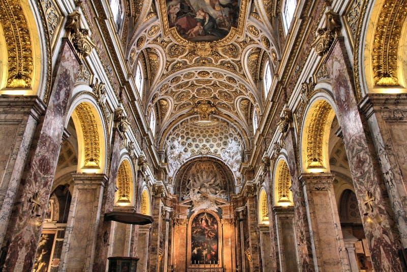 San Luigi dei Francesi arkivbilder