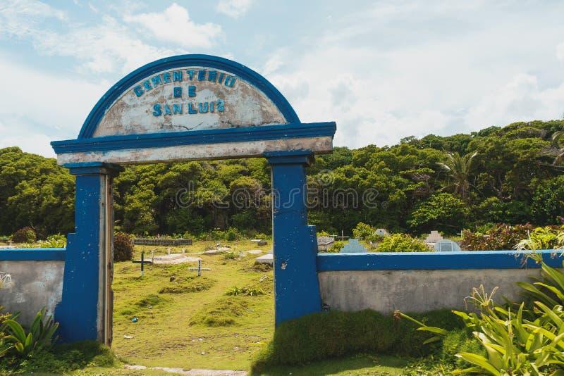 San Luis Cemetery photos stock