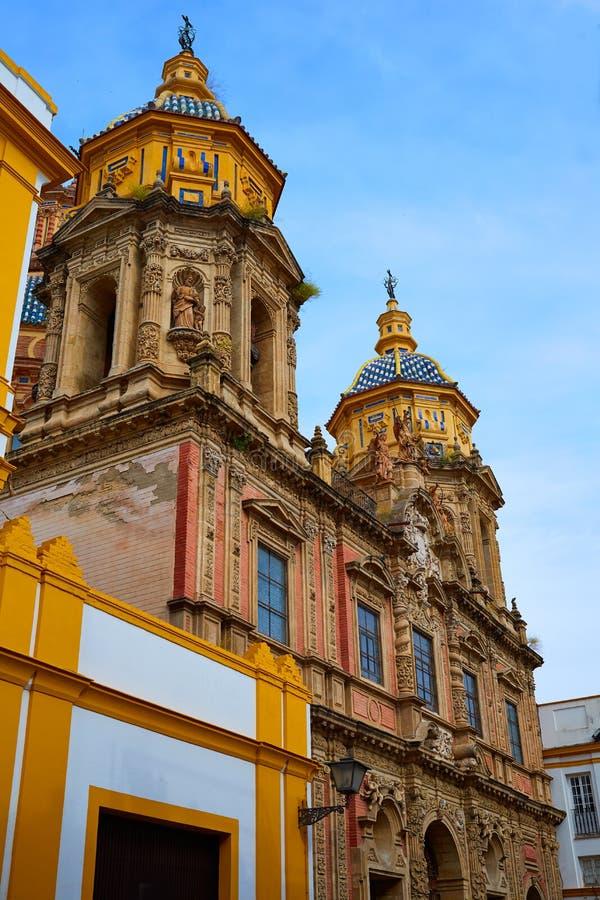Free San Luis Church Facade In Seville Of Spain Stock Photos - 80863923
