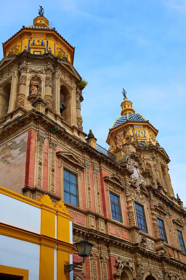 Free San Luis Church Facade In Seville Of Spain Stock Photos - 80864253
