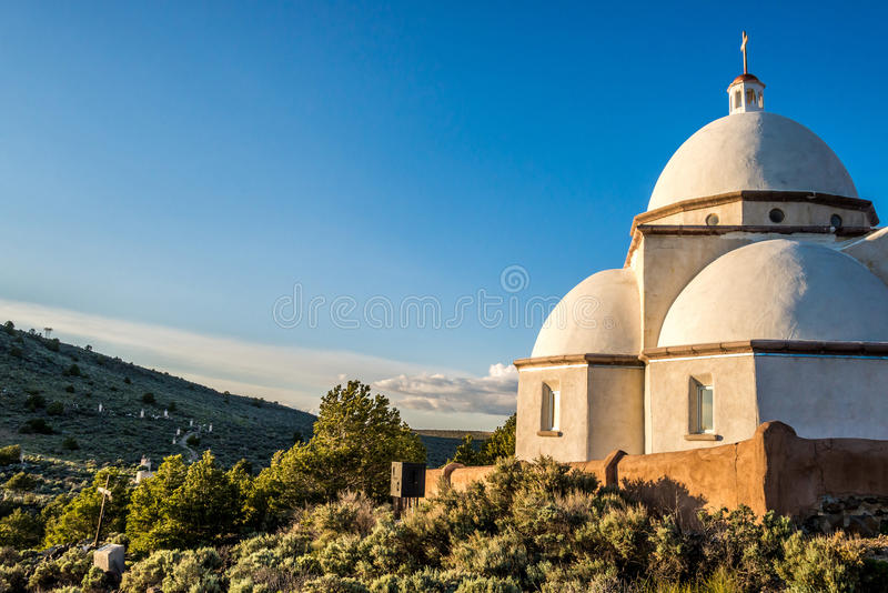 San Luis Church Historic Landmark photographie stock libre de droits