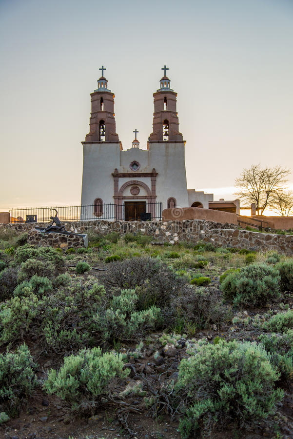 San Luis Church Historic Landmark image stock