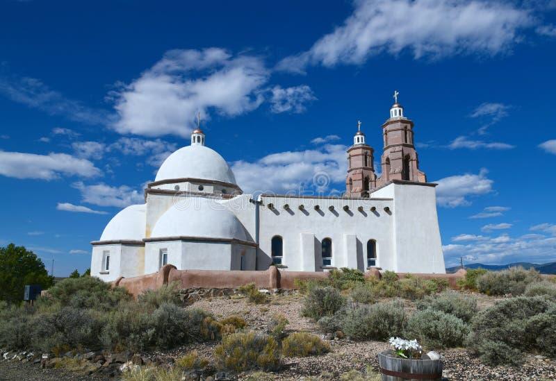 San Luis, Colorado: Chapel of All Saints stock photo