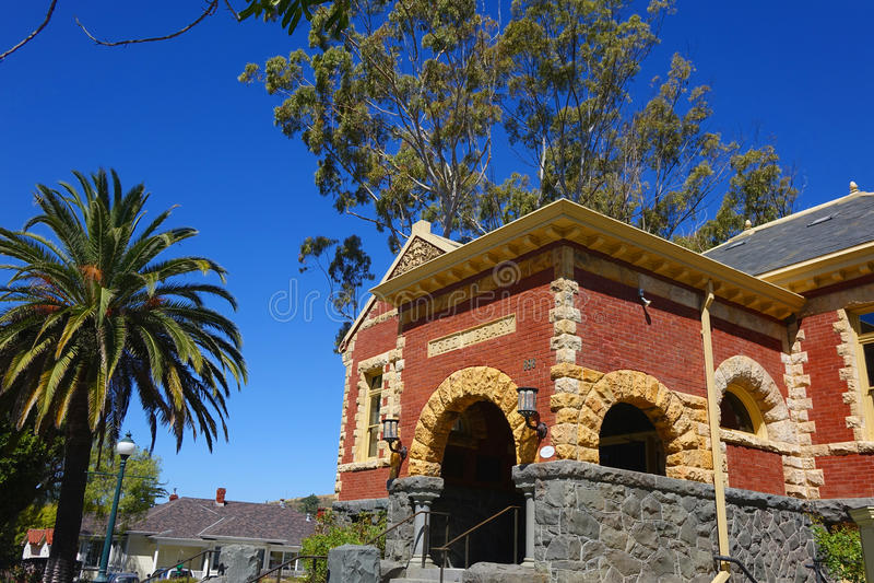 San Luis Obispo Carnegie Library - Califórnia foto de stock royalty free