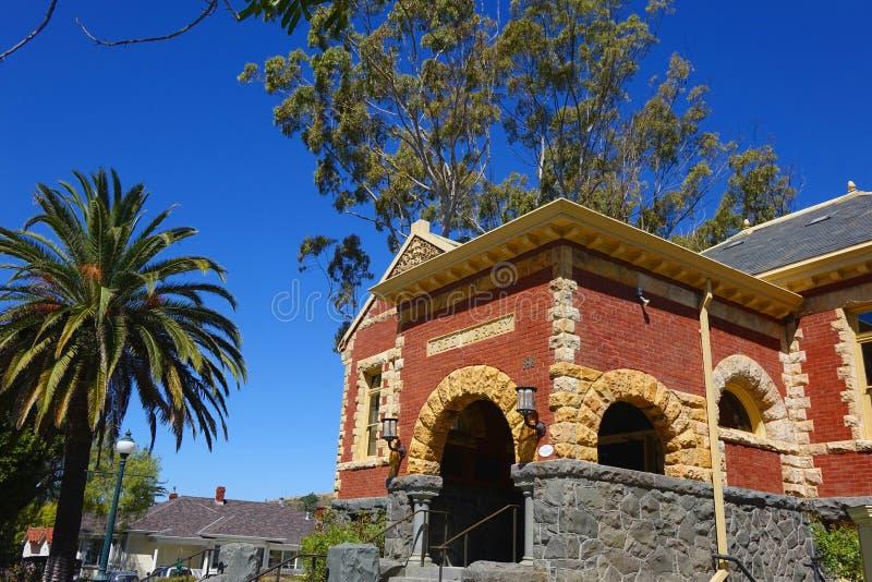 San Luis Obispo Carnegie Library - California royalty free stock photo