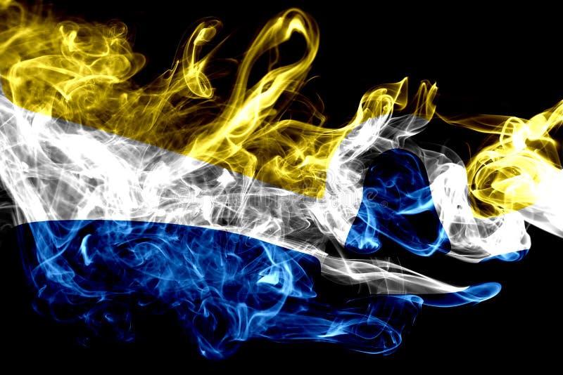 San Luis Obispo city smoke flag, California State, United States. Of America stock photos