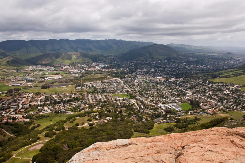 San Luis Obispo, Kalifornien lizenzfreie stockfotografie