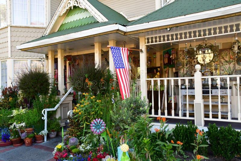 San Luis Obispo, USA - july 14 2016 : apple farm hotel royalty free stock photo
