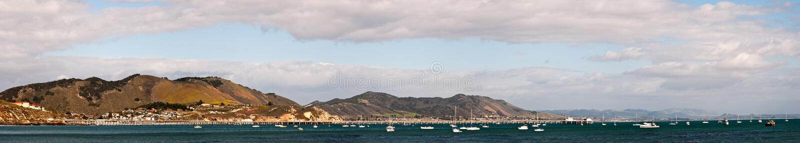 San- Luis Obisposchacht-Panorama stockfotos