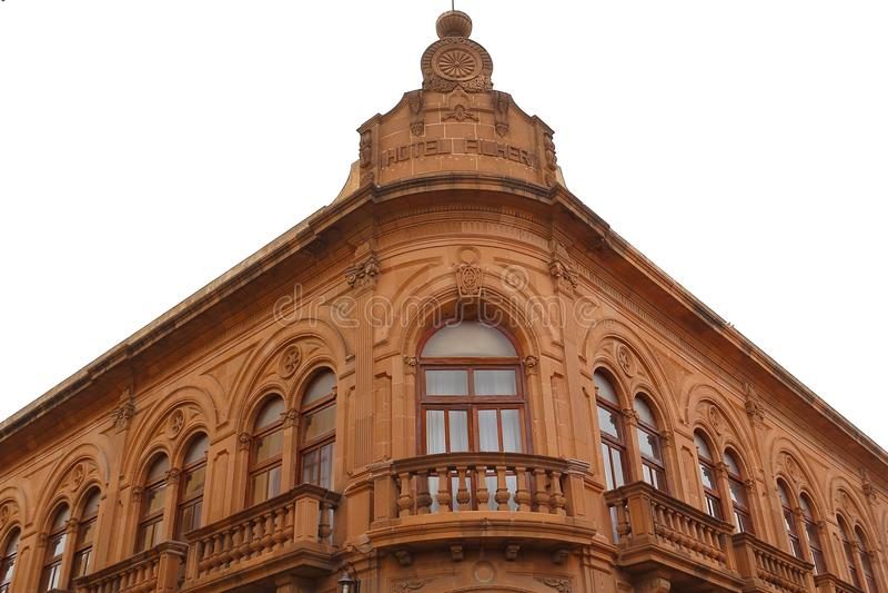 San luis potosi arkitektur I arkivbilder