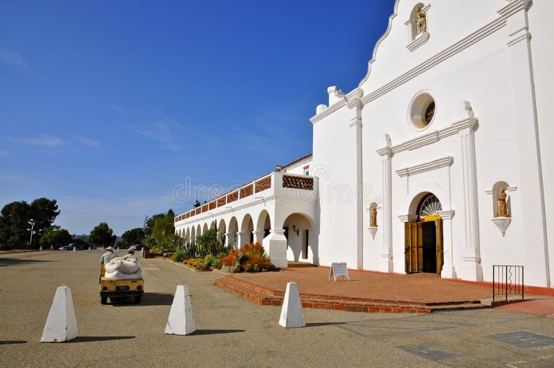 San Luis Rey di missione fotografie stock