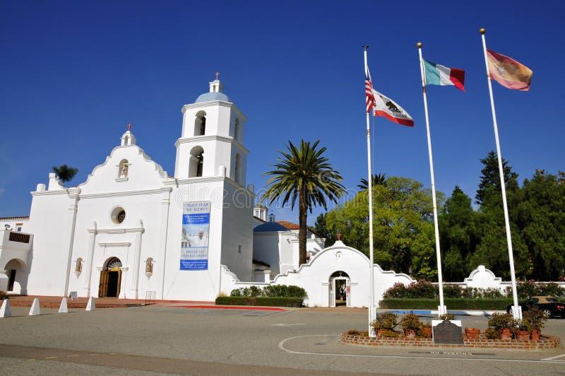 San Luis Rey di missione fotografie stock libere da diritti