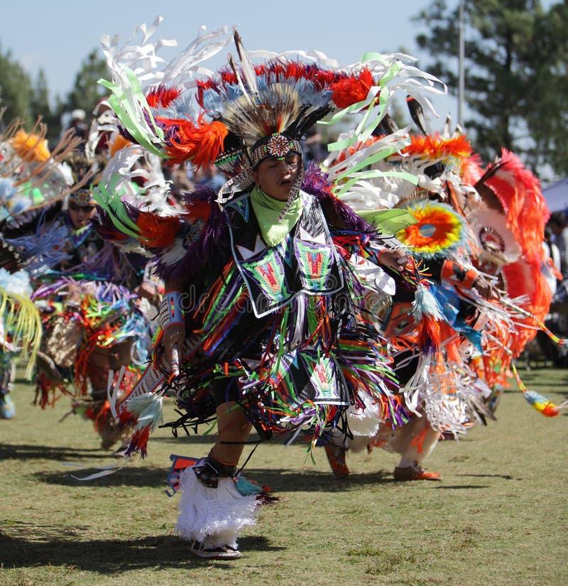 San Manuel Indians Pow Wow - 2012. SAN BERNARDINO, CALIFORNIA, USA, OCTOBER 13, 2012. The San Manuel Band of Indians hold their annual Pow Wow in San Bernardino royalty free stock photography
