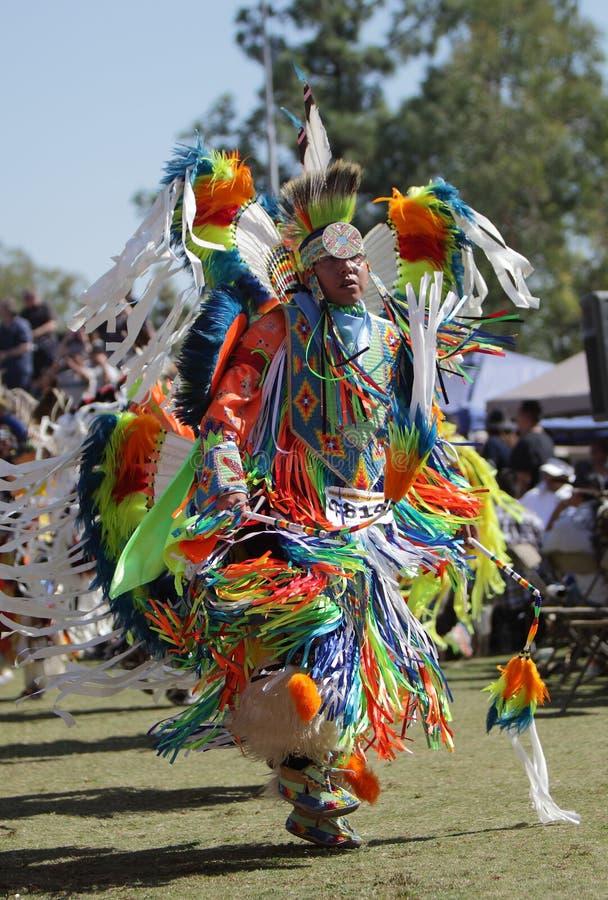 San Manuel Indians Pow Wow - 2012. SAN BERNARDINO, CALIFORNIA, USA, OCTOBER 13, 2012. The San Manuel Band of Indians hold their annual Pow Wow in San Bernardino stock photo