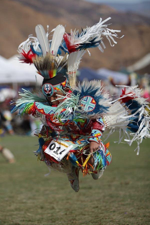 San Manuel Indians Pow Wow - 2012 arkivbilder