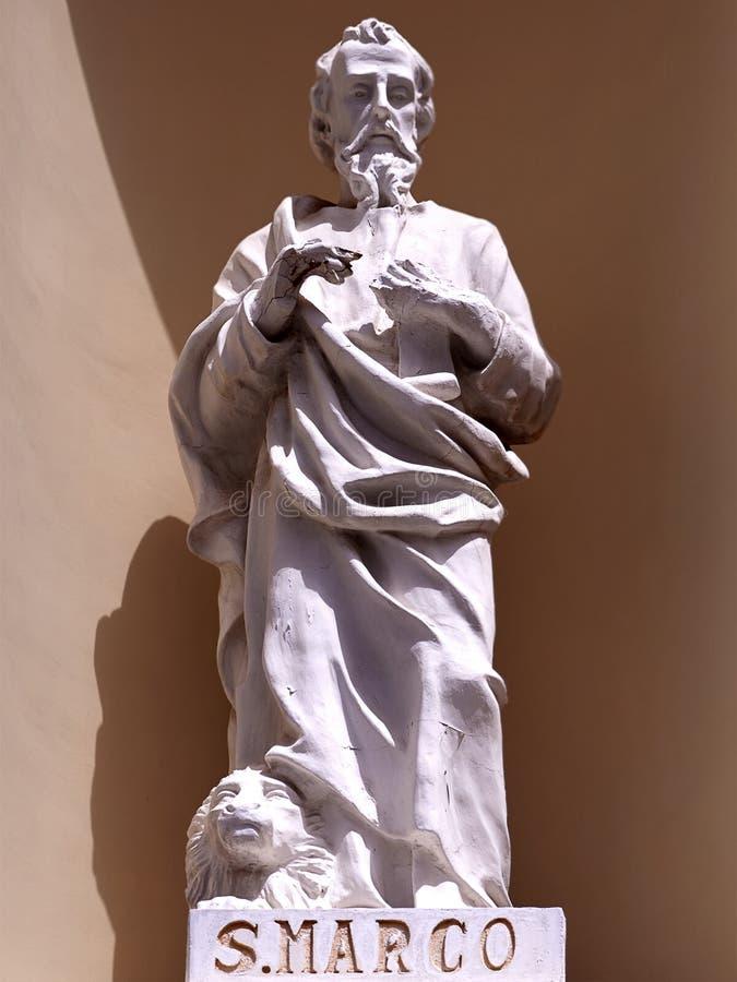 San Marco. Statue of San Marco in Minori Salerno stock photography