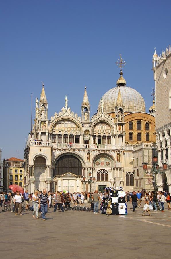 San Marco Basilica royalty-vrije stock afbeeldingen