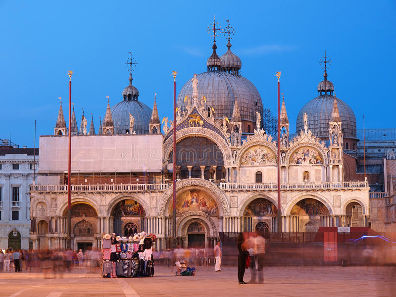 Download San Marco Basilica, Venice editorial photography. Image of italy - 23469362