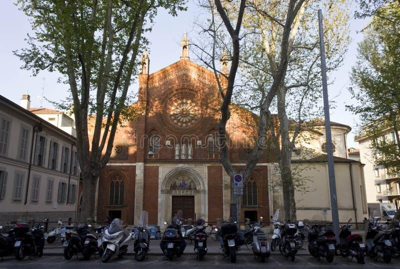 San Marco bazylika w Mediolan obraz stock