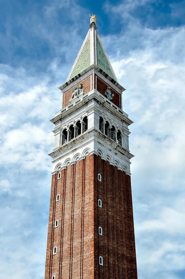 San Marco Belfry stock fotografie
