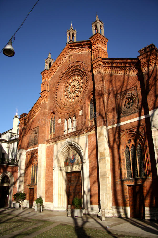 Download San Marco Church In Milan, Italy Stock Photo - Image: 37214160