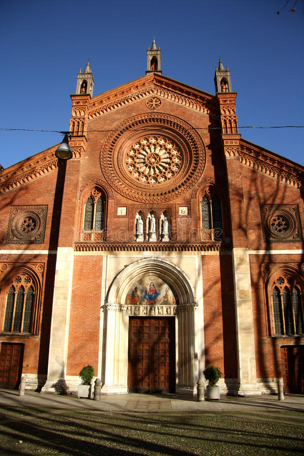 Download San Marco Church In Milan, Italy Stock Image - Image: 37214229