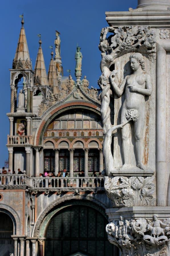 san marco facades, Venice stock photo
