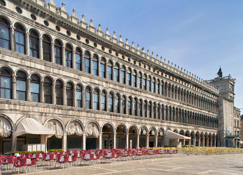 Download San Marco Galleries In The Morning Stock Image - Image: 22808789