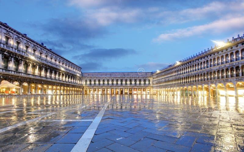 San Marco kwadrat, Wenecja Włochy zdjęcia royalty free