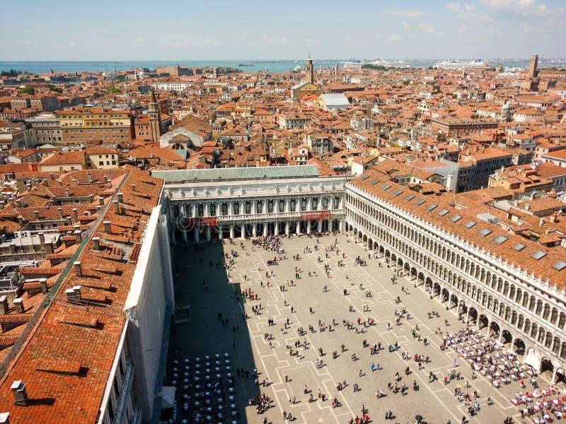 San Marco kwadrat Wenecja, Włochy fotografia royalty free