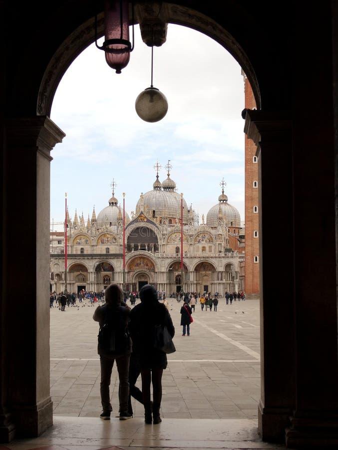 SAN Marco sqare στη Βενετία, Ιταλία στοκ φωτογραφίες