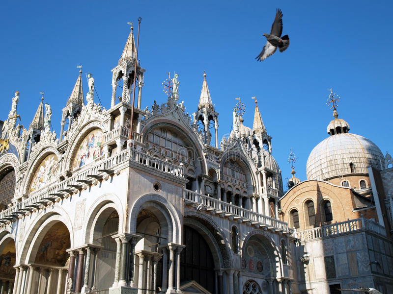 San Marco square, Venice royalty free stock photography