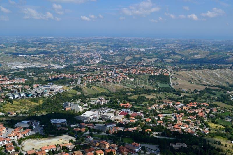 Download San Marino arkivfoto. Bild av cityscape, rock, stads - 37349034