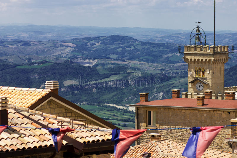 San Marino imagem de stock