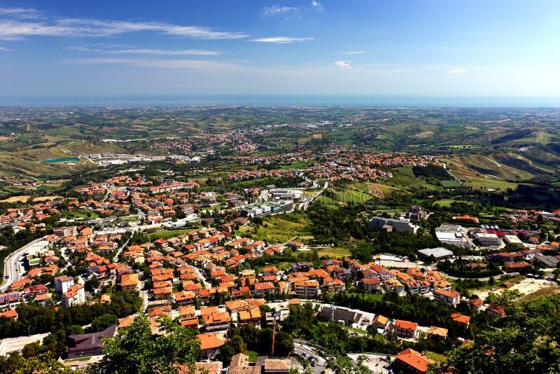 San Marino fotografia de stock royalty free