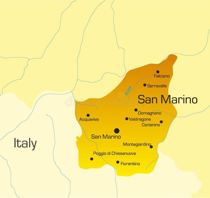 San Marino Country Stock Vector Image Of Geography Illustration - San marino map download