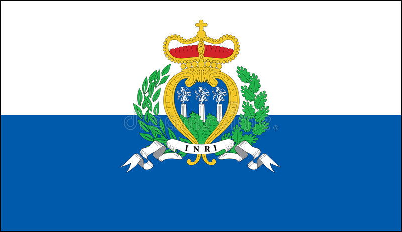 Download San Marino Flag Stock Images - Image: 6896014