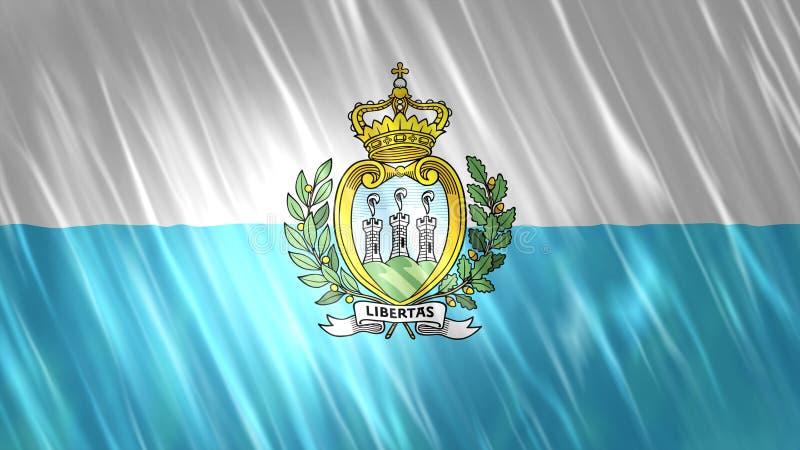 San Marino Flag vector illustration