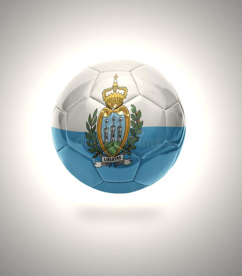 San Marino futbol royalty ilustracja