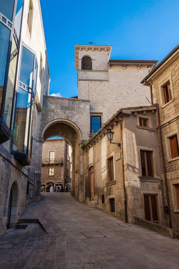 San Marino Italien fotografering för bildbyråer