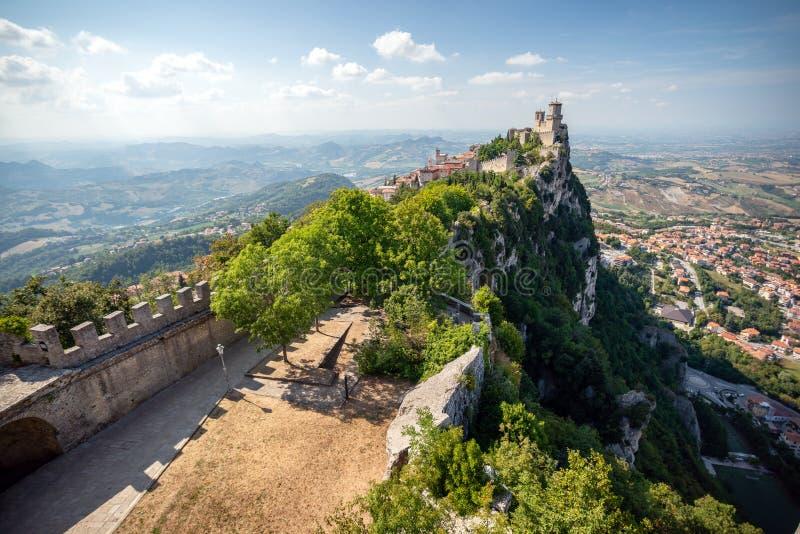 San Marino Italien royaltyfria bilder